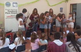 Concert Rock Factory a Escola Aloma de Barcelona