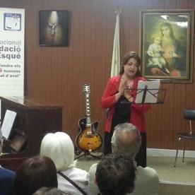"""""""Vittoria, vittoria"""" de Giacomo Carissimi. Interpreta Ángela Cayuela, soprano, i Fernando Bañó, piano."""