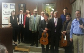 D'esquerra a dreta, Esther Vilar, Patrik Tapiol, Ángela Cayuela, Fernando Bañó, Josep Guàrdia, Manel García, Xavi Martínez, Jordi Morillas, Josep Nomdedéu, Pere Salicrú i Carles Bueno.