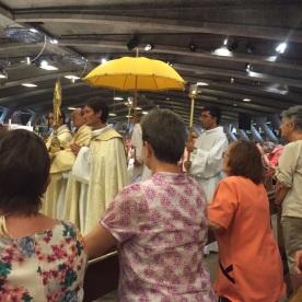 Detall de la Processó del Santíssim
